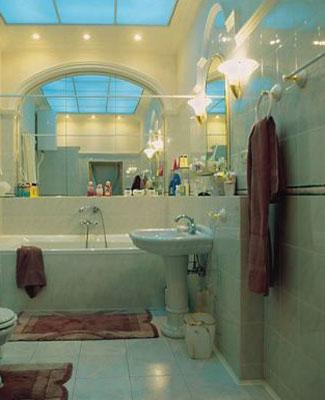 Blue Green Bathroom Decorating Color Scheme, Small Bathrooms Designs  Interior Colors For Small Bathroom Design