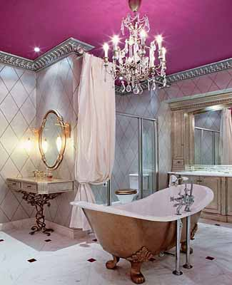 Charming Bathroom Decor, Old World Bathroom Decorating Ideas