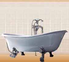 claw foot bathtub vintage ideas for bathroom decorating