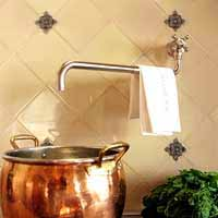 antique cooper pot modern bathroom decorating ideas