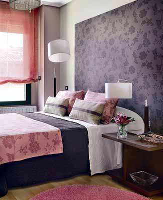 white paint bedding pink purple bedroom colors