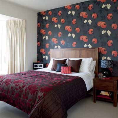 Beautiful Bedroom Wallpapers bright bedroom wall decoration with modern wallpaper