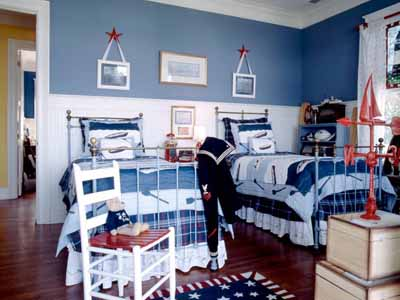 Patriotic Decorating Theme And Color Combination