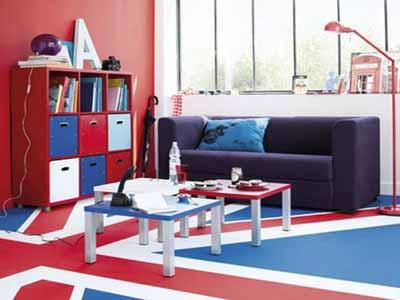 kids rooms decor ideas patriotic decorating theme