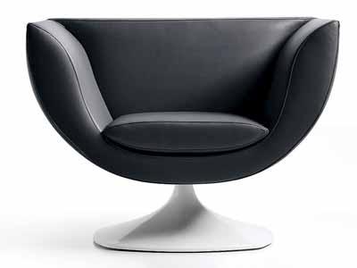 black chair minimalist decor style interior design