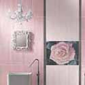 Fashionable bathroom decorating suggestions soft pink for Pink and grey bathroom ideas