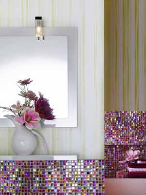 Bathroom Decorating Ideas Colours contemporary bathroom decorating ideas, bright purple and pink