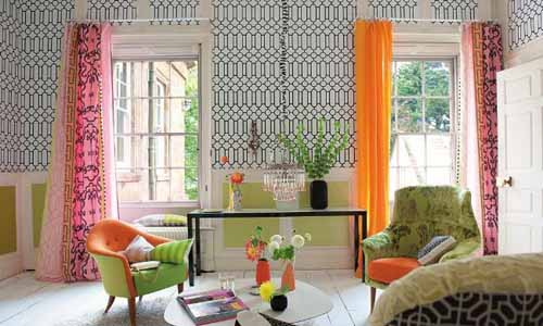 Modern home decor fabrics