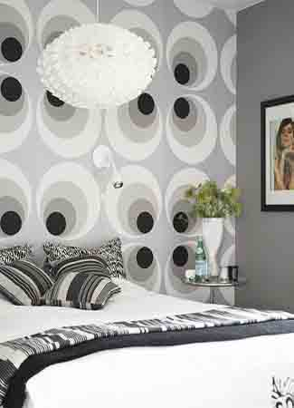Black N White Wallpapers Interior Design Wall Decoration