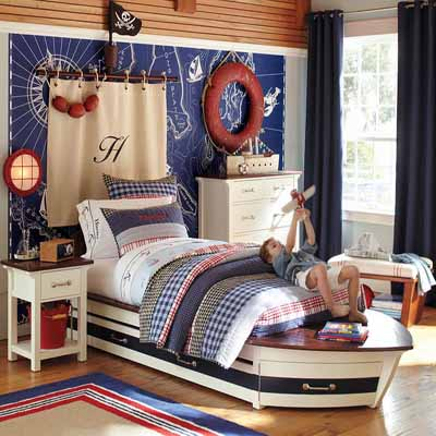 Red White And Blue Bedroom Ideas. Nautical Bedroom Decor Bright Colors Fun  Decorating Ideas For Kids