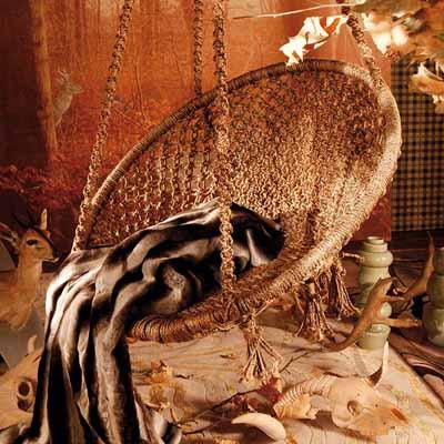 silk-wool-decorative-fabrics-wicker-chair
