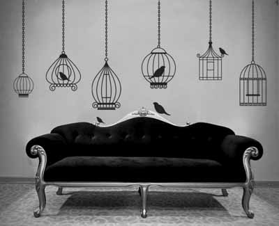 images of birds wall decoration ideas bird cage