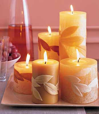 Candle Centerpiece Ideas Table Decoration With Fall