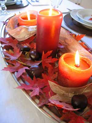 Christmas Table Decoration Ideas on Fall Table Decoration Ideas Photograph   Fall Decorating Ide