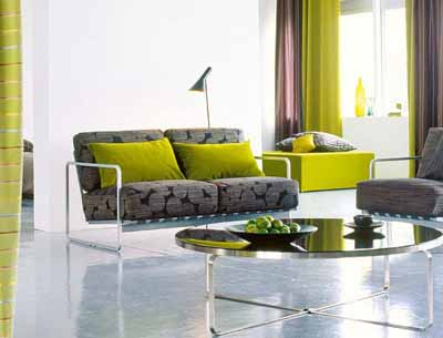 decorative fabrics modern living room colors