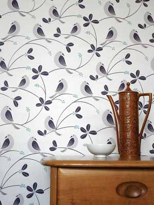 contemporary wallpaper images birds wall decoration