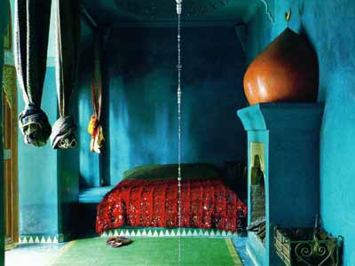 blue paint moroccan bedroom colors interior design - Bedroom Decorating Ideas Blue And Green