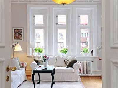 living room design swedish style