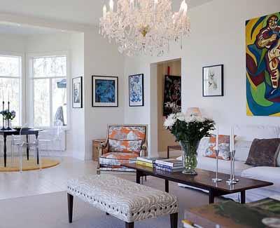 living room furniture white paint scandinavian homes