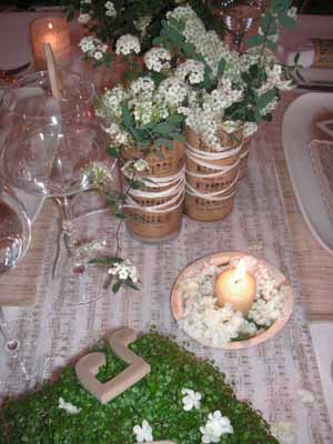 Table Decoration Ideas White Flowers Centerpiece Ideas