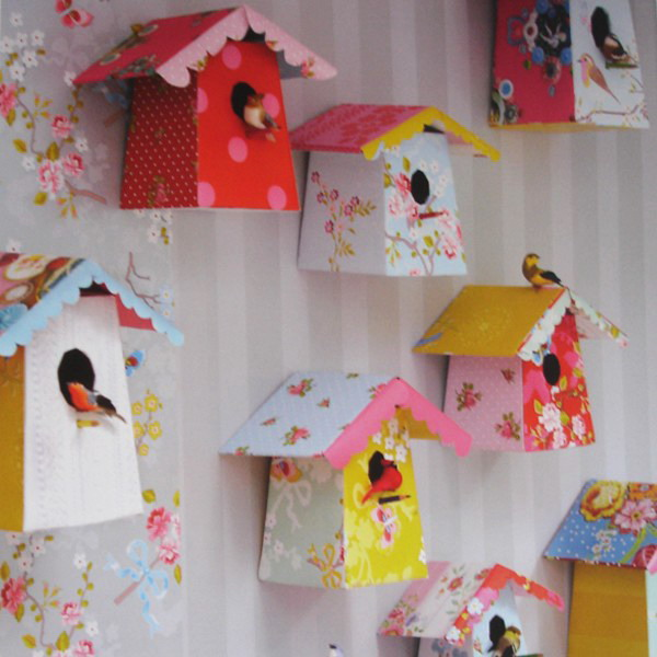 Decorative Bird House Designs And Beautiful Wallpapers With Wooden Houses