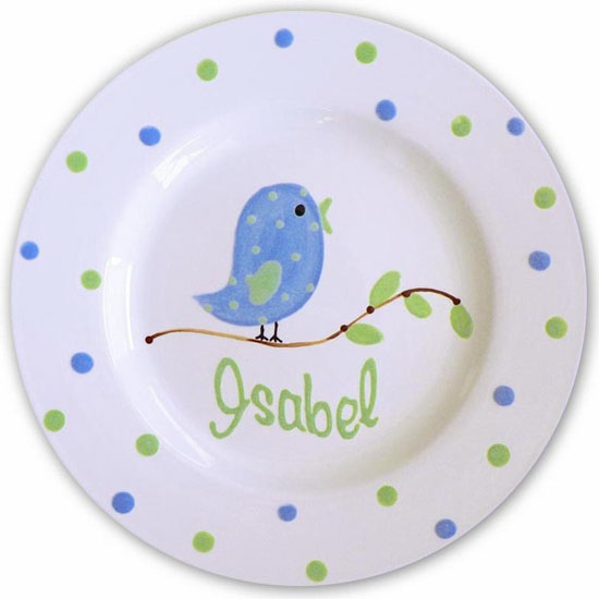 images of bird on decorative plates for wall decoration in kids rooms