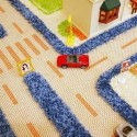 sculptured contemporary rugs are modern kids room decorating ideas