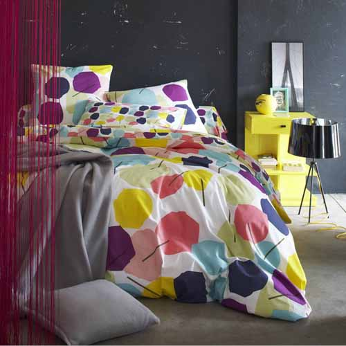 Modern bedding sets and bedroom colors patterns and color for Housse de couette turquoise