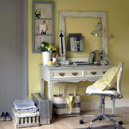 Yellow Color Scheme That Includes Classy Gray Tones Is A Way To Add  Sunshine And Peaceful Mood To Room Decorating, Intensifying The Brightness  And Freshness ...