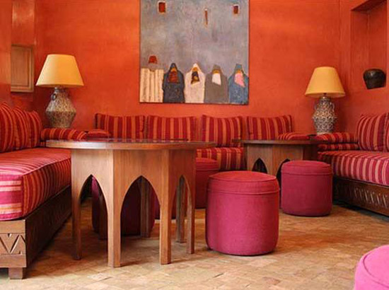 morocco decor and ideas for moroccan decorating in pink colors
