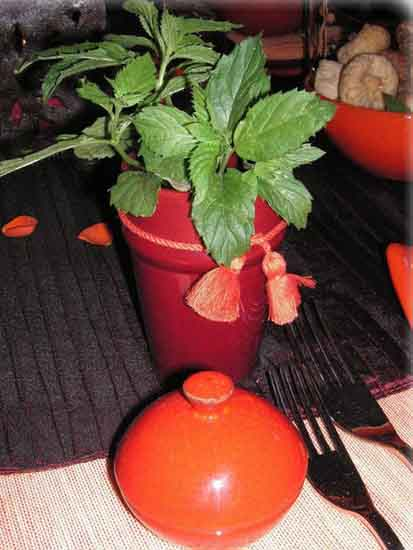 inspired by Marrakesh table centerpiece ideas