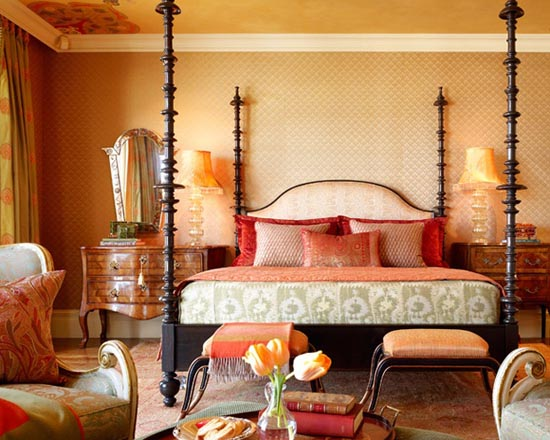 Moroccan decor moroccan decorating color schemes Moroccan decor ideas for the bedroom