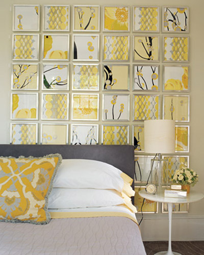 Yellow And Grey Bedroom Themes: Light Gray And Yellow Color Scheme, Calm Fall Decorating Ideas