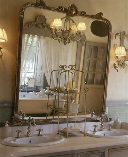 Modern French Bathroom: New 18th Century French Decorating Ideas, Rediscovering