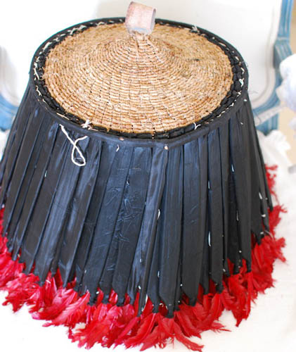 making african hats and craft decorations for modern home interiors