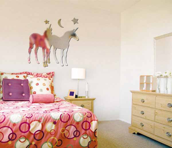capricorn-zodiac-sign-mirror-sticker-bedroom-decorating-ideas