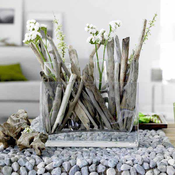 driftwood craft ideas are creative table centerpiece ideas