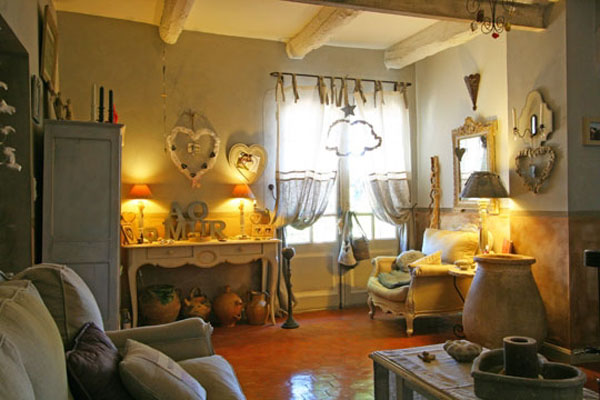 Country Home Decorating Ideas With French Chic