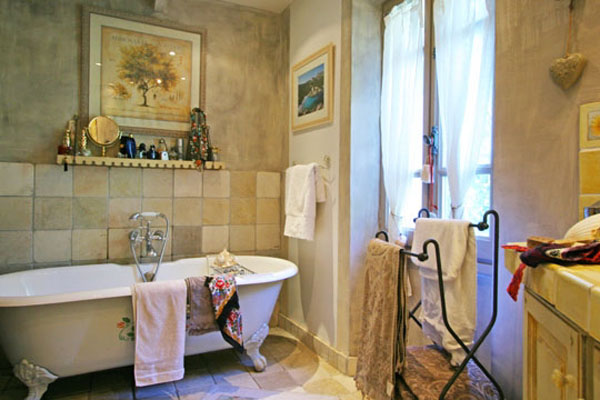 french design and bathroom decorating ideas for provencal home
