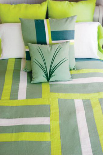 patchwork fabric for bedding and bedroom decorating ideas