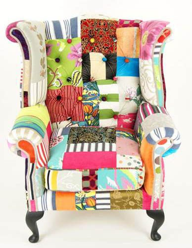 patchwork fabric pattern for modern furniture upholstery fabrics