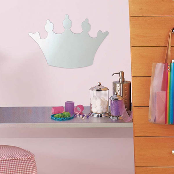 princess-crown-mirror-sticker-wall-decor-ideas