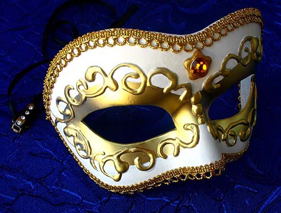 venetian mask is one of craft idea for making wall decorations
