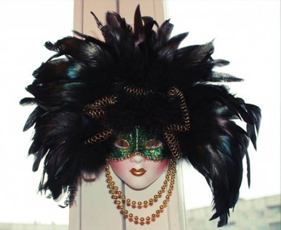 venetiran style masks for a masquerade ball make beautiful wall decoration