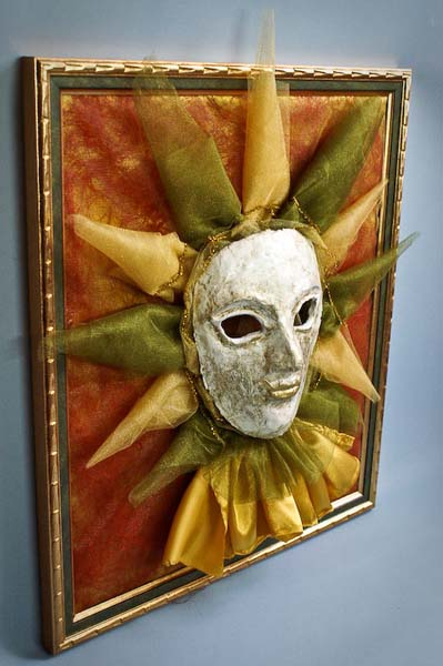 wall decor art inspired by vanetian mask for masquerade