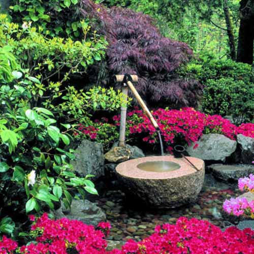 water fountains for japanese gardens are modern backyard ideas