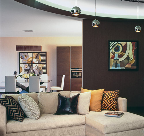 black, gray and yellow cushions for living room furniture