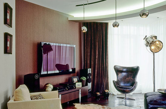 living room decorating ideas in art deco and contemporary minimalist style