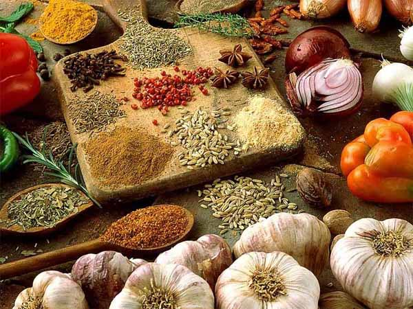 cooking with spices and wthnic cuisine