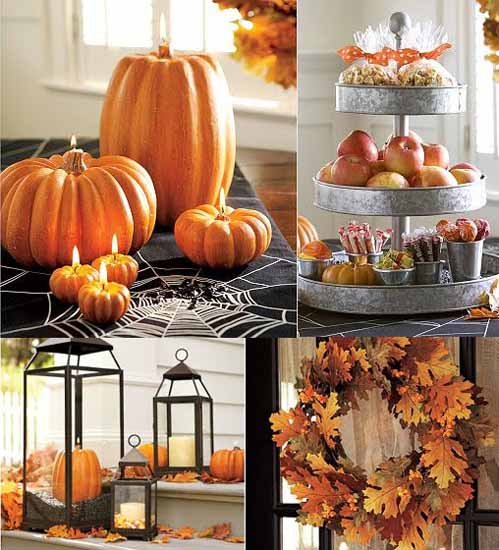 Halloween Decorating With Pumpkins, Halloween Home And